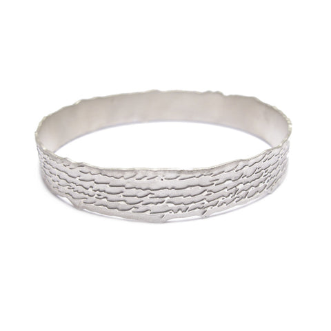 Silver 'Endless' Bangle