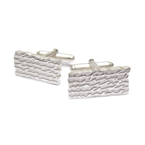 Silver 'Endless' Cufflinks