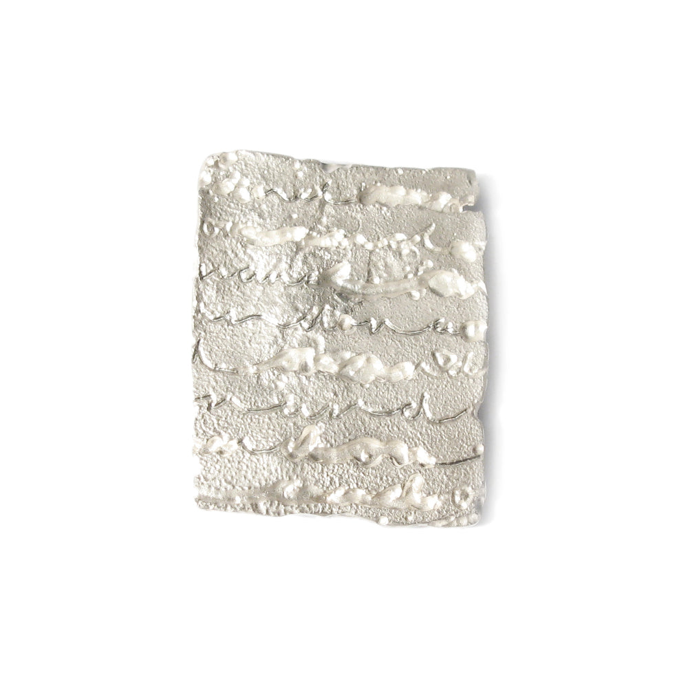 Silver 'Lacy' Brooch