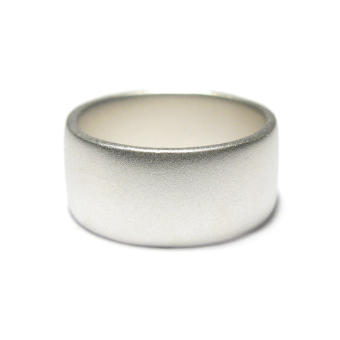 Medium Plain Silver Ring