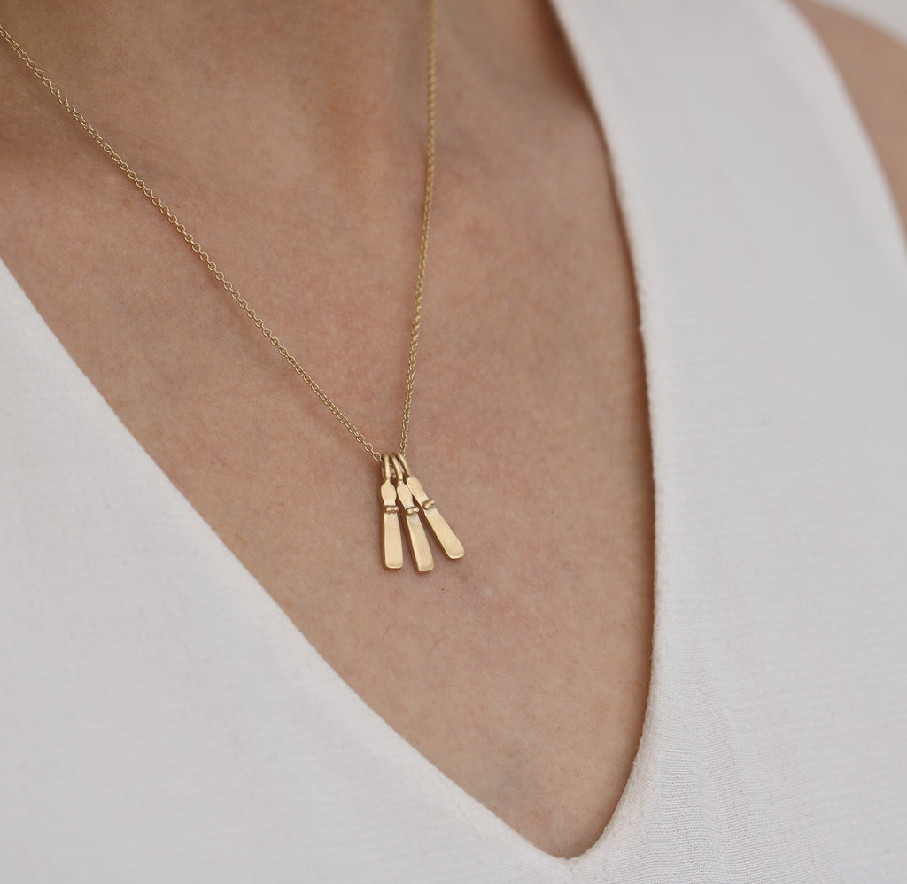 9ct Gold Mini Sibyl Necklace