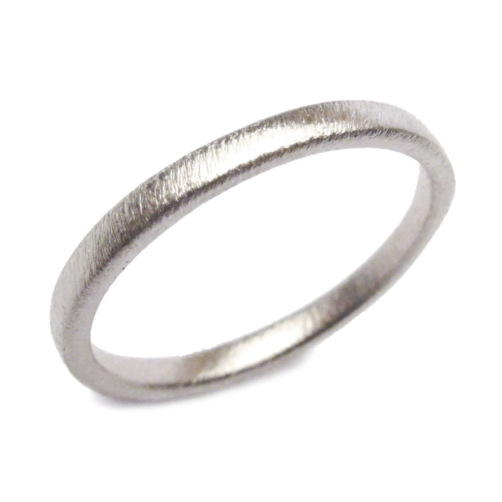 18ct Yellow Gold Narrow Plain Ring