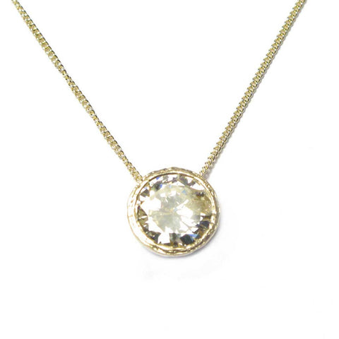 Bespoke - Heirloom  2.55ct Diamond and Gold Pendant