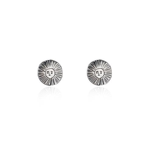 Momocreatura Sun Disc Earrings