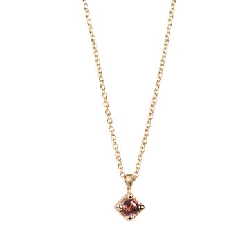 Fair Mind 9ct Yellow Gold 'One-Of-Kind' Necklace with Tanzanian Spinel