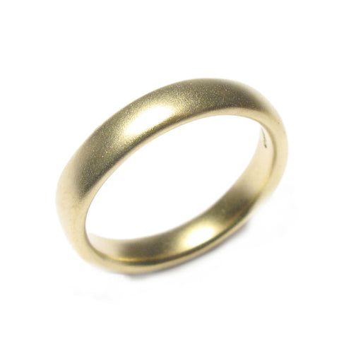 Plain 18ct Yellow Gold Narrow Ring