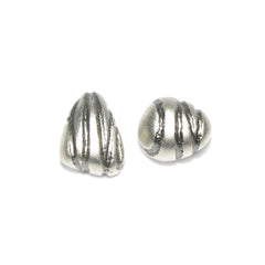 Diana Porter etched and on silver ear studs