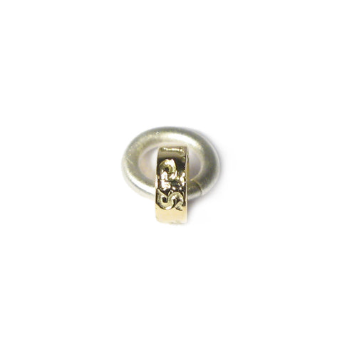 18ct Yellow Gold 'Spirit' Charm