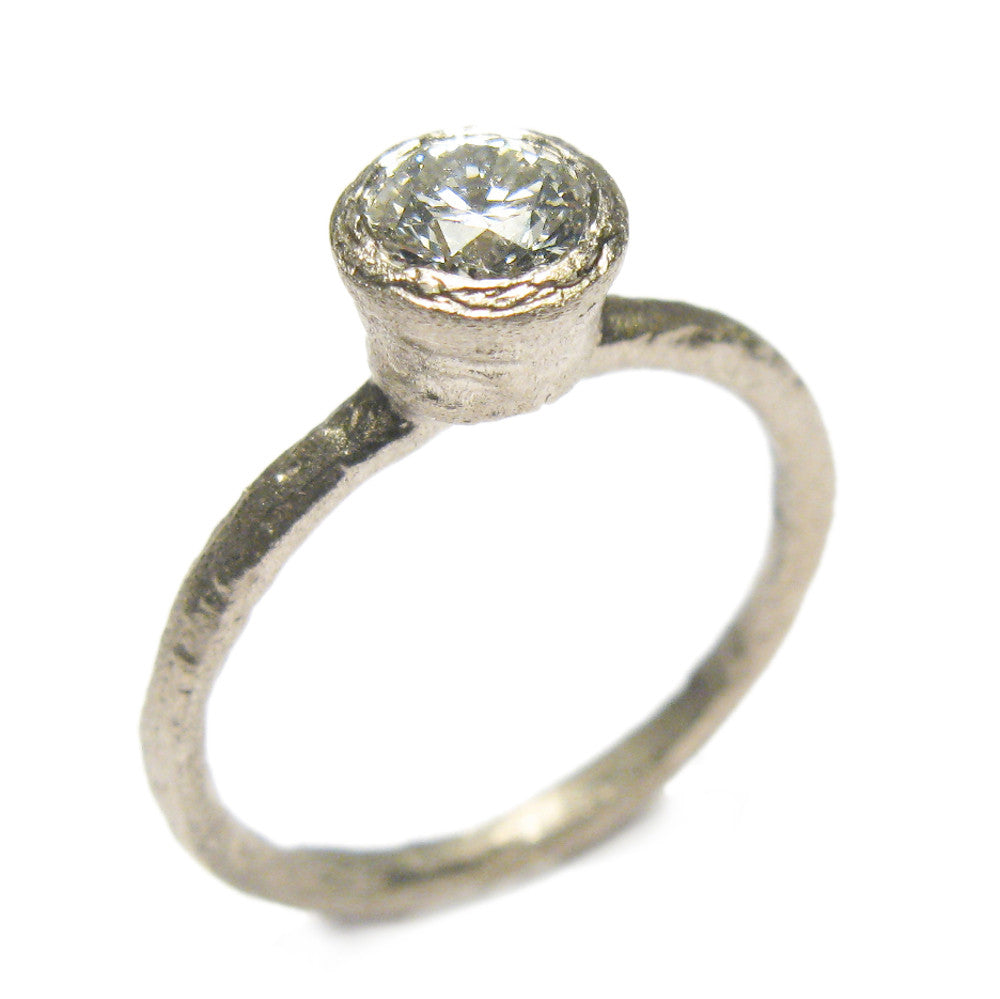 Diana Porter Jewellery unique diamond white gold engagement ring