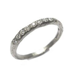 Diana Porter Jewellery unique platinum eternity wedding ring