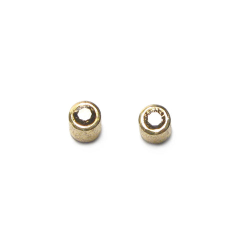 18ct Yellow Gold Brown Diamond Ear Studs