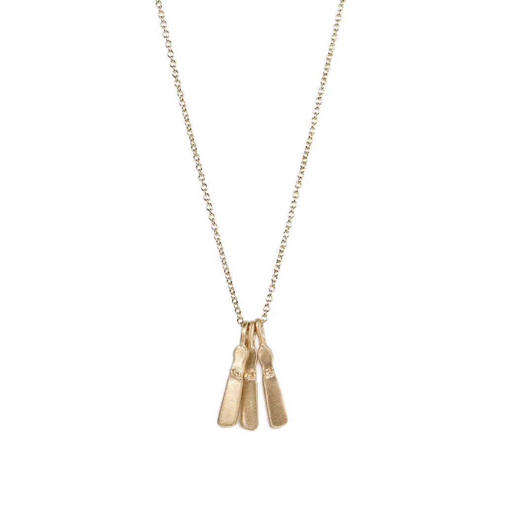 9ct Yellow Gold Mini Sibyl Necklace