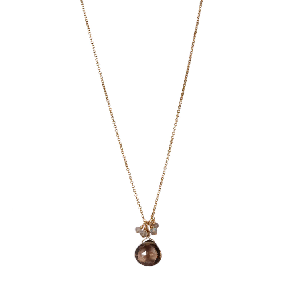 Mounir Smokey Quartz necklace