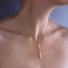 Fair Mind 9ct Yellow Gold 'Equality' Sibyl Necklace
