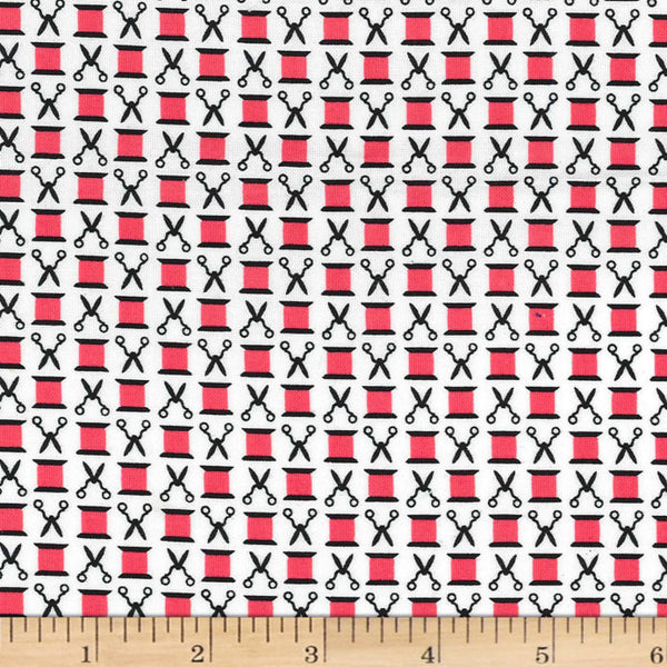Snip and Spools Cotton Fabric Watermelon Michael Miller Novelty BY the Yard