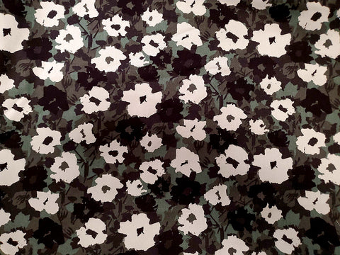 Posey  Floral  Cotton Twill Shirting Fabric By the Yard