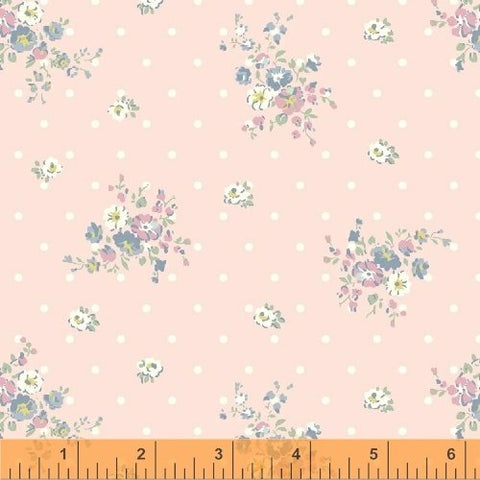 Roslyn Small Floral Scatter  Cotton Fabric WIndham By the Yard