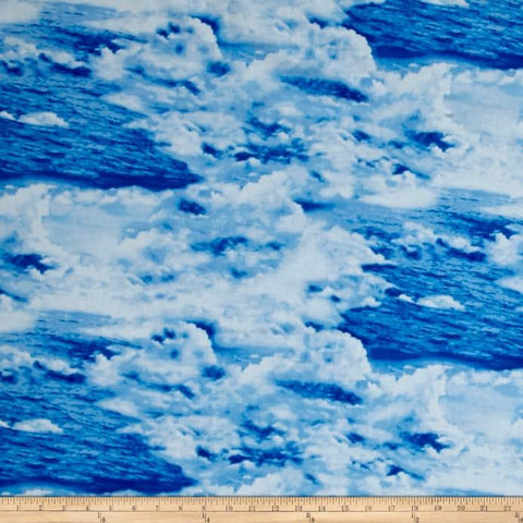Make A Splash Ocean Waves  Cotton Fabric  Exclusively Quilters By the Yard