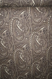 Abstract Paisley Twill Stretch Suiting Fabric Fall By the Yard