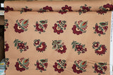 Petra Cotton Fabric Eastern Inspired Floral Blank Quilting BY the Yard