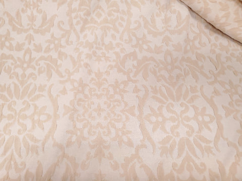 Damask Jacquard Double Knit Fabric Poly Lycra By the Yard