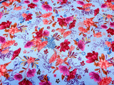 Flower Garden Cotton Floral Fabric The Gallery By the Yard