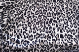 Sweater Knit Fabric Cheetah Animal Print By the Yard