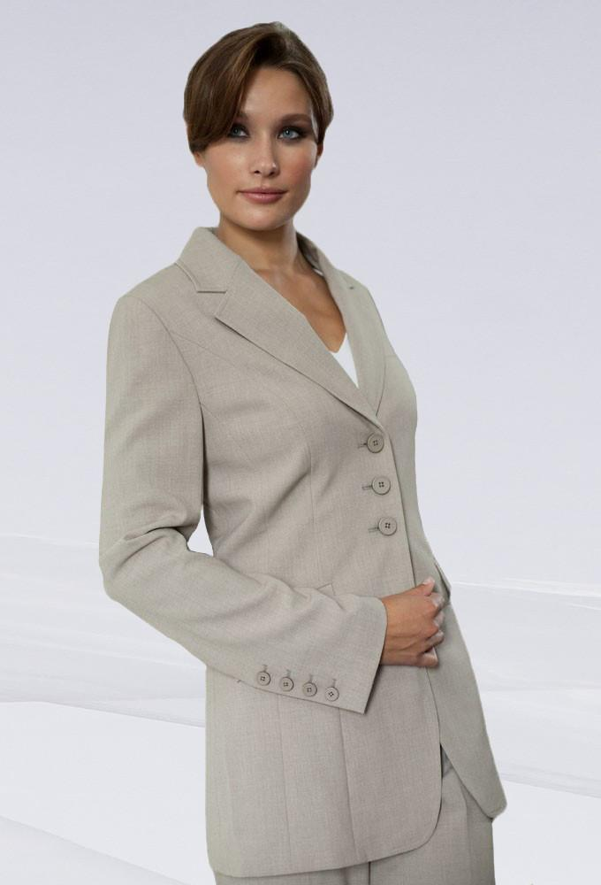 57cb274bf0b3 Women's 3 Button Suit Jacket. Size Charts. Calculate My Size