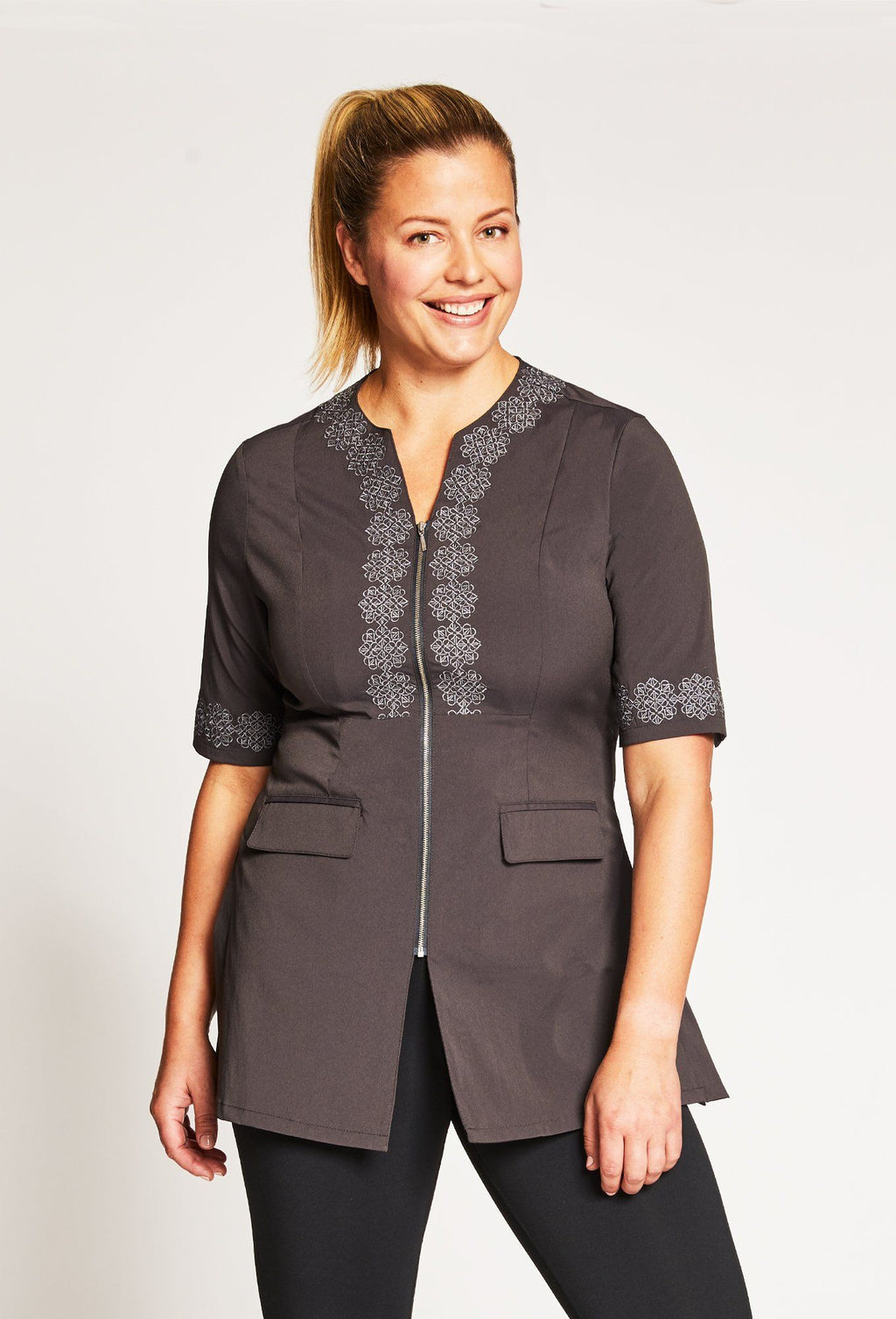 Eternity Tunic W/ Embroidery