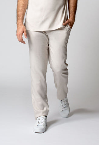 Women's Faux Linen Crop Pant