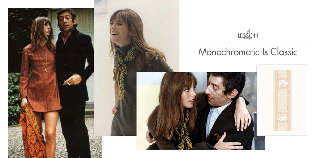 Jane Birkin - Monochromatic is Classic