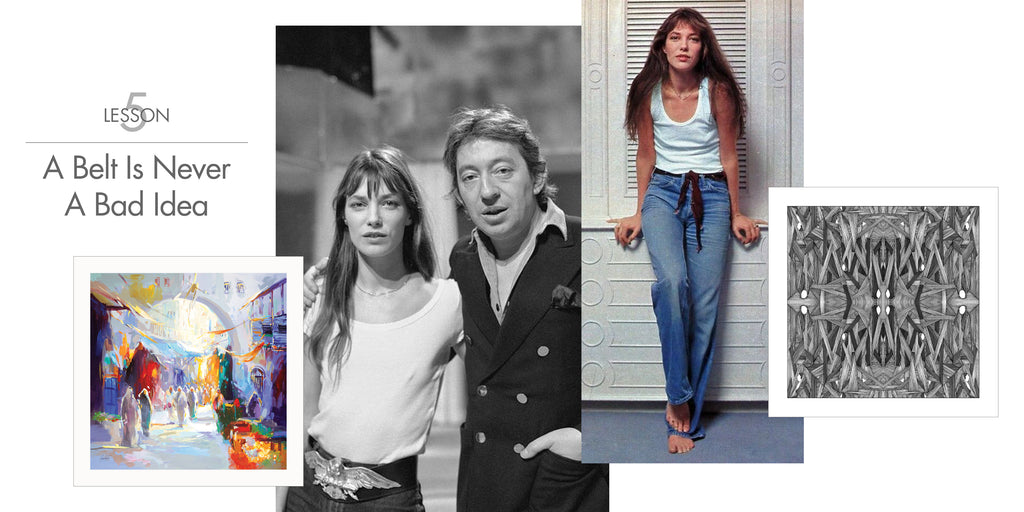 Jane Birkin - A Belt Is Never A Bad Idea