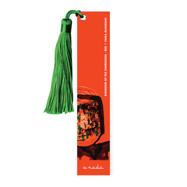 Kingdom of Fez (Tarboosh) Red - Bookmark