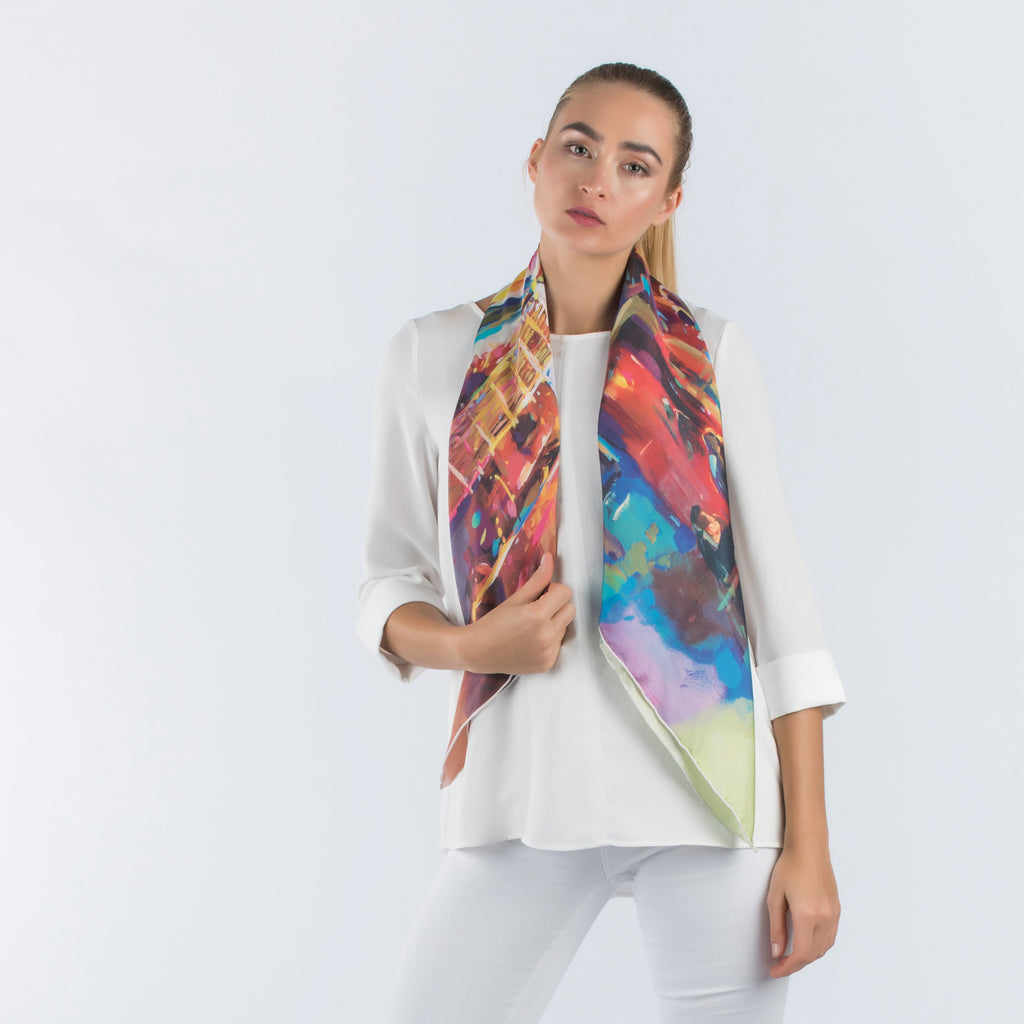 Seasons -  Square Scarf