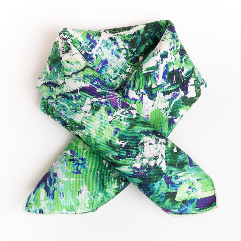 Blossoms Are Blooming - Mini Scarf