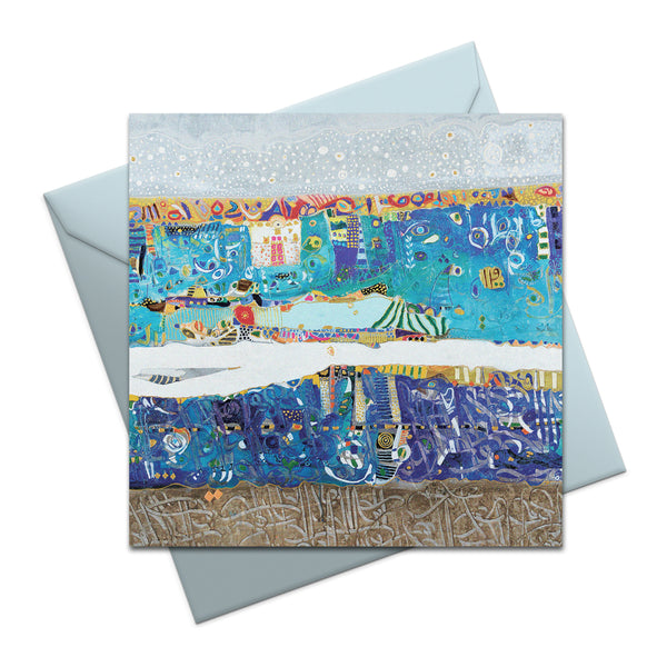Blue Sea - Greeting Card
