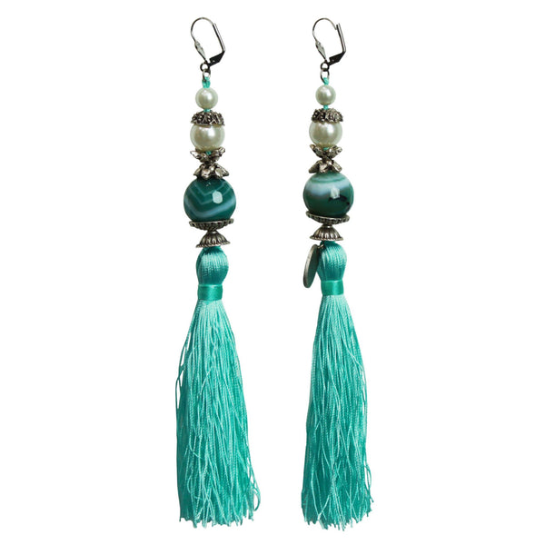 Tiffany Blue - Tassel