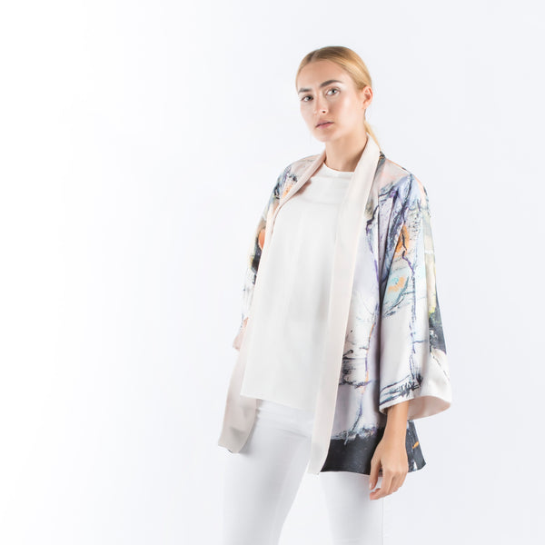 Be My Friend - Kimono Cardigan (Peach)