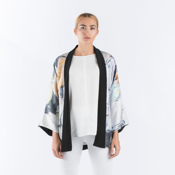 Be My Friend - Kimono Cardigan (Black)