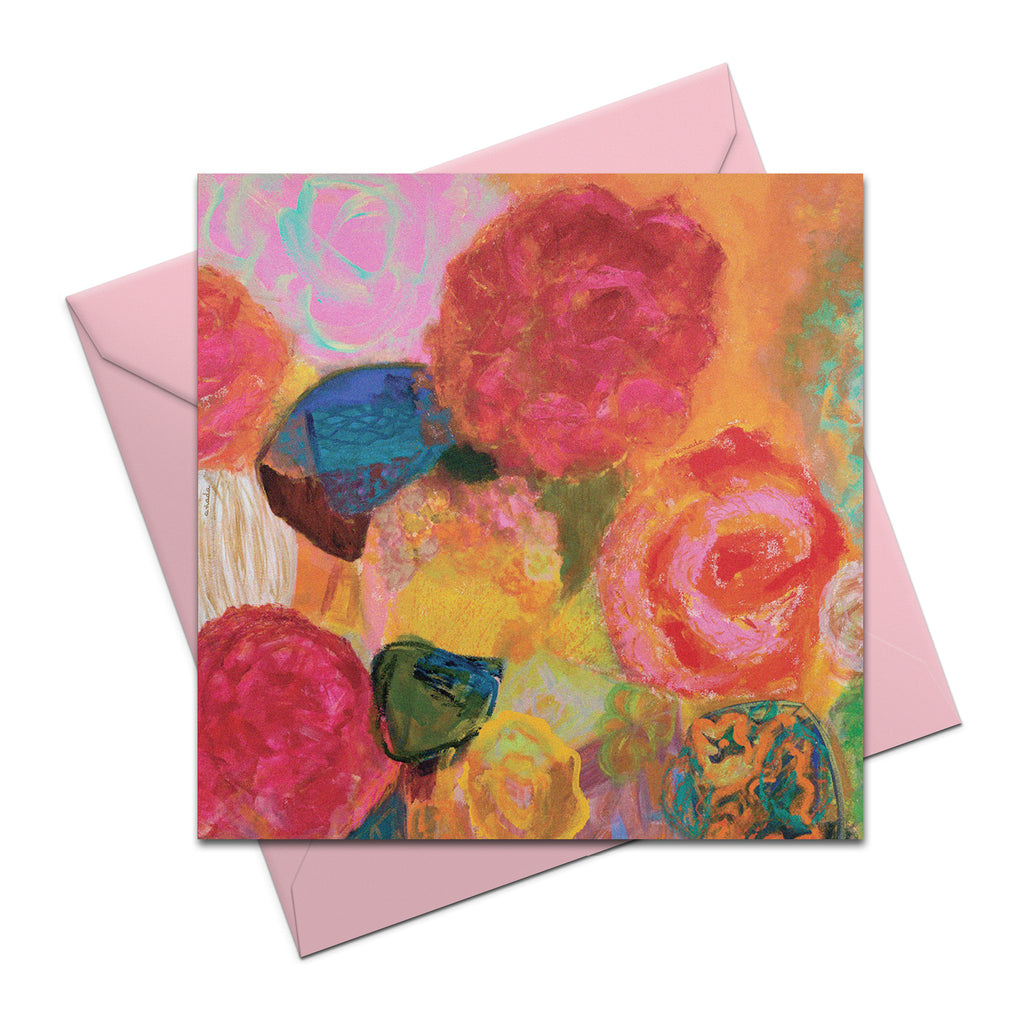 Flower Princess - Greeting Card