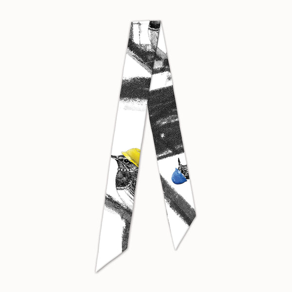Birds of The Future - Slim Scarf