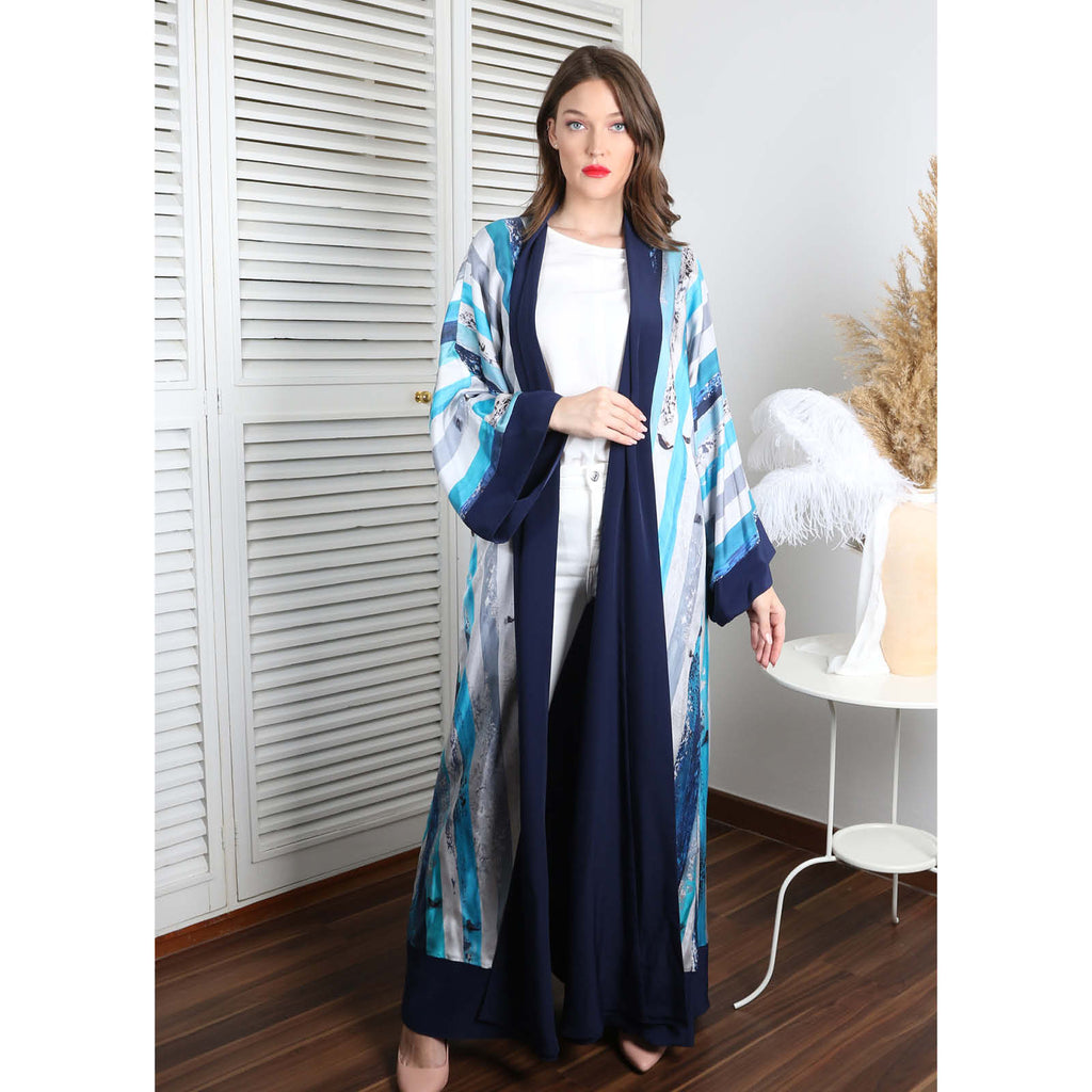 The (I) in Me - Signature Reversible Abaya (Navy)