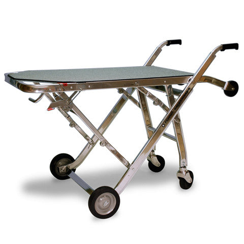 286 Stairclimber gurney style folding cart with 300 lb load capacity - Salesmaker Carts