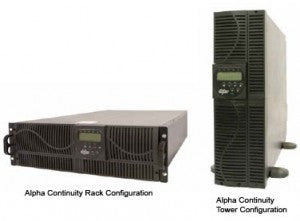 Alpha Continuity 6K On-Line UPS, 6kVA/5.4kW , UPS (Uninterruptible Power Supply) - ALPHA, GDFUPS