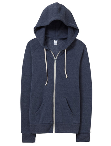 Alternative Adrian Eco-Fleece Zip Hoodie