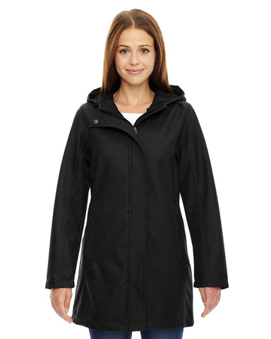 Ash City - North End Textured Three-Layer Fleece Bonded Soft Shell Jacket