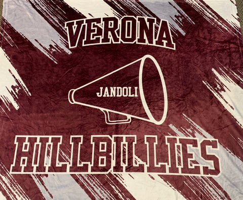 Sublimated Verona Cheer Blanket
