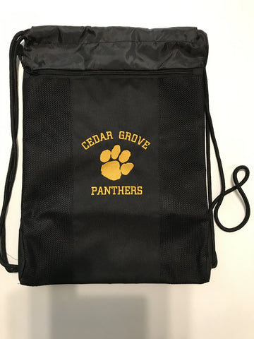 Team 365 Cedar Grove Panthers Paw Cinch Drawstring