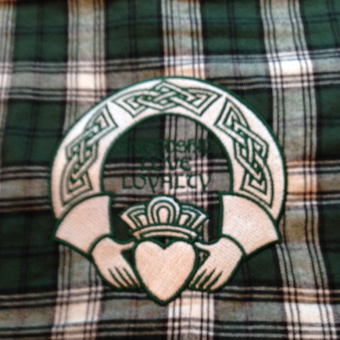 Boxercraft Flannel Blanket-Claddagh