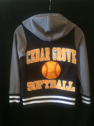 Cedar Grove Softball Accomplish Jacket (With Name)